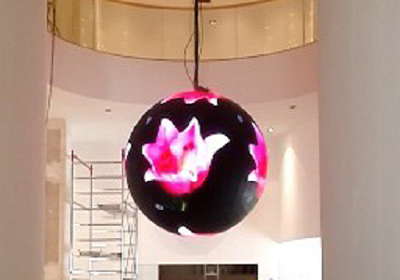 球体型LEDビジョン
